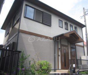 岡崎市H様 外壁屋根塗り替え工事 施工前 全景画像