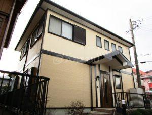 岡崎市H様 外壁屋根塗装工事 施工後 外観画像