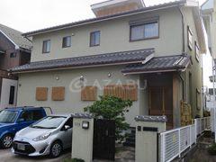 春日井市Y様 外壁塗り替え工事 施工前 全景画像