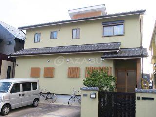 春日井市Y様 外壁塗装工事 施工後 外観画像