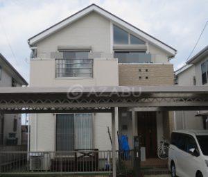 名古屋市O様 外壁屋根塗り替え工事 施工前 全景画像