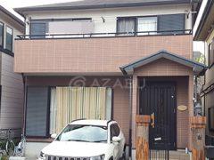 春日井市F様 外壁屋根塗り替え工事 施工前 全景画像