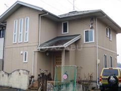 小牧市K様 外壁屋根塗り替え工事 施工前 全景画像