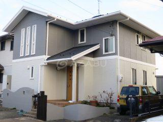 小牧市K様 外壁屋根塗装工事 施工後 外観画像