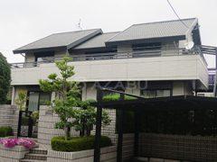 名古屋市N様 外壁屋根塗り替え工事 施工前 全景画像