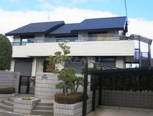 名古屋市N様 外壁屋根塗装工事 施工後 外観画像