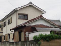春日井市I様 外壁塗り替え工事 施工前 全景画像
