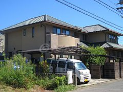 名古屋市K様 外壁塗り替え工事 施工前 全景画像