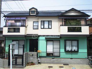 春日井市Y様 外壁屋根塗装工事 施工後 外観画像