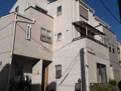 千種区M様 外壁屋根塗り替え工事 施工前 全景画像