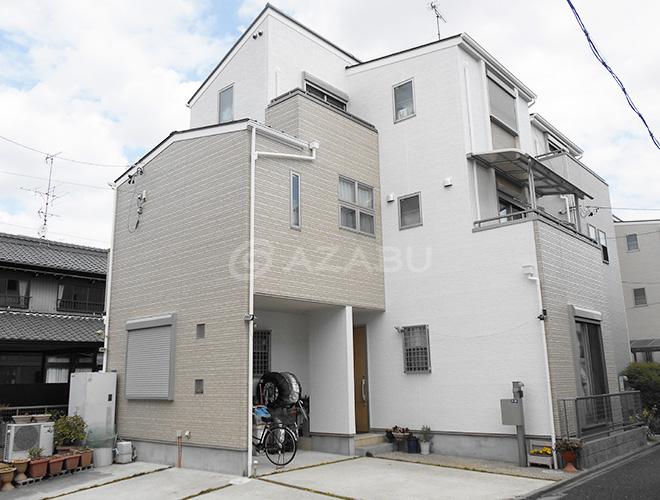 千種区M様 外壁屋根塗装工事 施工後 外観画像