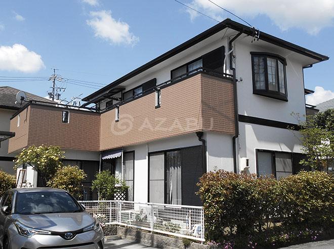 豊田市O様 外壁屋根塗装工事 施工後 外観画像