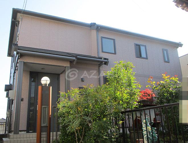 名古屋市K様 外壁塗装工事 施工後 外観画像