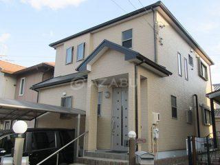 日進市Y様 外壁塗り替え工事 施工後 全景画像