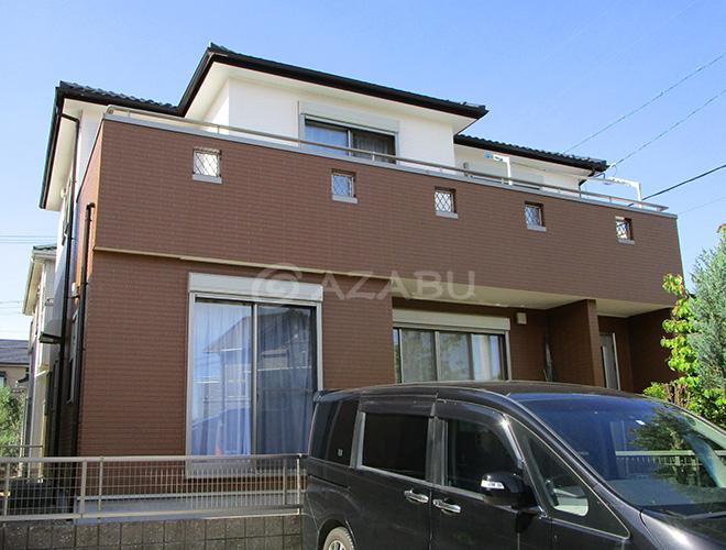 春日井市Y様邸 外壁塗り替え工事 施工後 全景画像