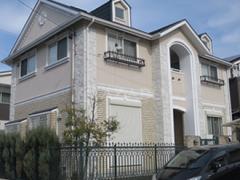 春日井市O様邸 外壁屋根塗り替え工事 施工前 全景画像