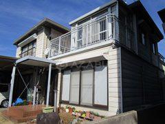 豊川市K様 外壁屋根塗り替え工事 施工前 全景画像