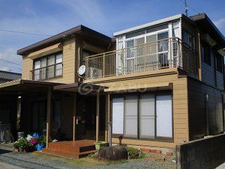 豊川市K様 外壁屋根塗装工事 施工後 外観画像