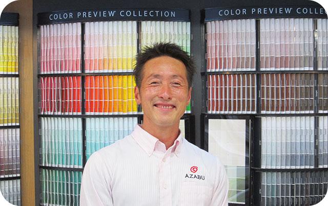 名南営業所の佐藤代表