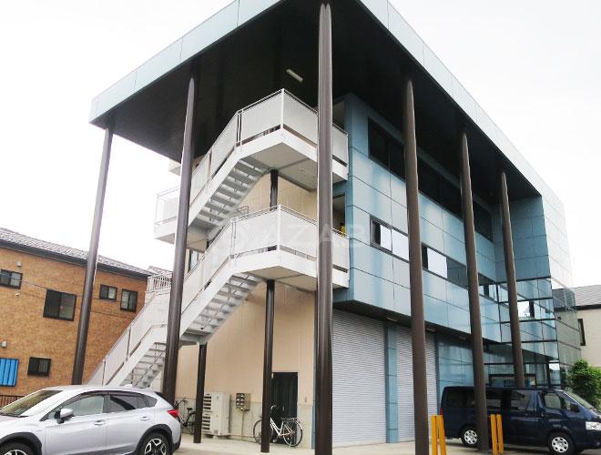 春日井市M様ビル 外壁塗り替え工事 施工後 全景画像