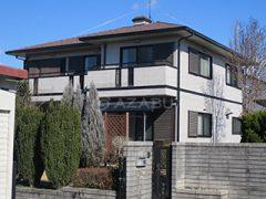 江南市S様 外壁屋根塗り替え工事 施工前 全景画像