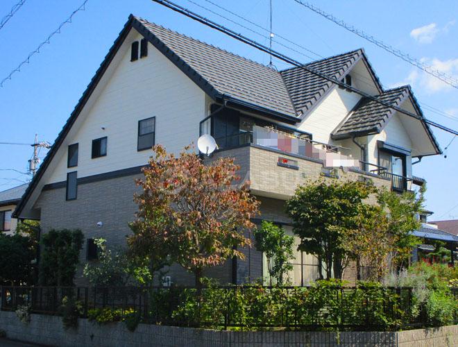 丹羽郡T様 外壁屋根塗装工事 施工後 外観画像